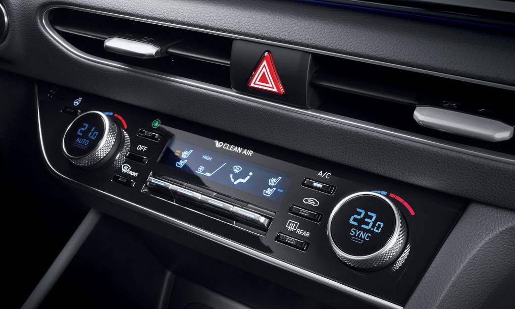 Hệ thốngđiều hòa Hyundai